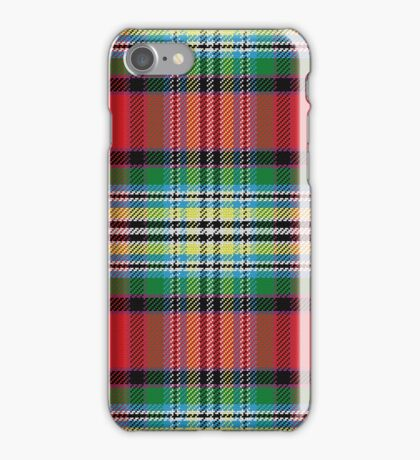 Red Pattern Scottish tartan iPhone Case/Skin