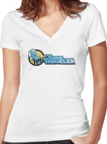 Time Travelers, Series 1 - Doc Brown Women's Fitted V-Neck T-Shirt