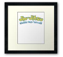 Brazilian Jiu-Jitsu Gotta Tap 'Em All (BJJ) Framed Print