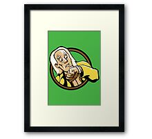Time Travelers, Series 1 - Doc Brown (Alternate) Framed Print