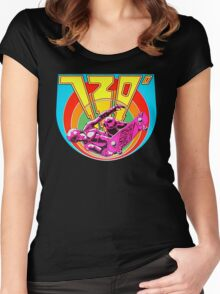 720 Degrees - Skateboard arcade game Women's Fitted Scoop T-Shirt