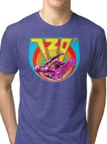 720 Degrees - Skateboard arcade game Tri-blend T-Shirt