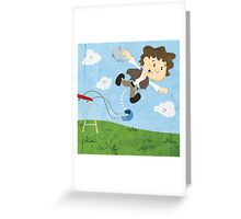 Star Wars babies - inspired by Han Solo Greeting Card