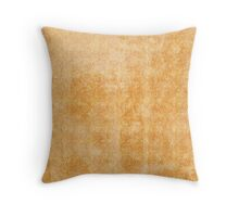Grunge Abstract Floral Pattern Throw Pillow
