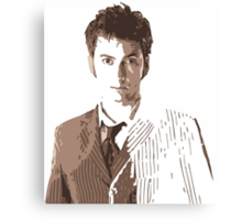 Doctor Who 10.5 Canvas Print