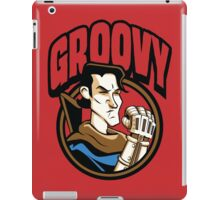 Time Travelers, Series 1 - Ash Williams (Alternate 2) iPad Case/Skin