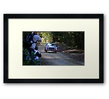 Hyundai WRC i20 Framed Print