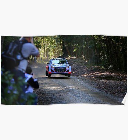 Hyundai WRC i20 Poster