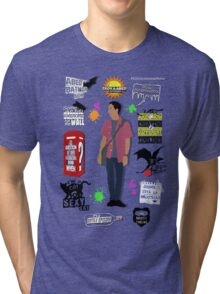 Abed Nadir Quotes Tri-blend T-Shirt
