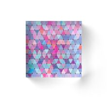 Lovely geometric Pattern VIV Acrylic Block