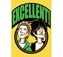 Time Travelers, Series 2 - Bill & Ted (Alternate 2) Photographic Print