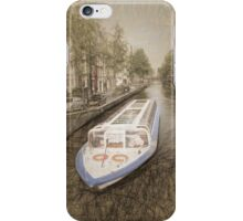 Canal Barge iPhone Case/Skin