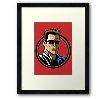 Time Travelers, Series 2 - The Terminator (Alternate) Framed Print