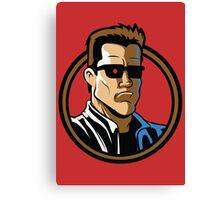 Time Travelers, Series 2 - The Terminator (Alternate) Canvas Print