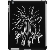 Slenderman Line Art iPad Case/Skin
