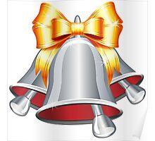 Silver jingle bells Poster