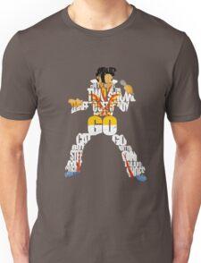 """""""Blue Suede Shoes"""" Elvis Lyrics Unisex T-Shirt"""