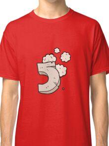cartoon stone number five Classic T-Shirt