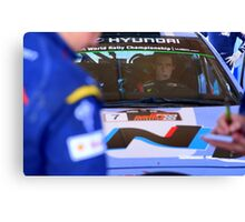 Thierry Neuville Canvas Print