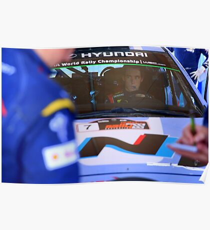 Thierry Neuville Poster