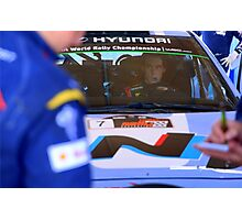 Thierry Neuville Photographic Print