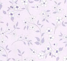 Little Flowers - Soft Purple by solnoirstudios