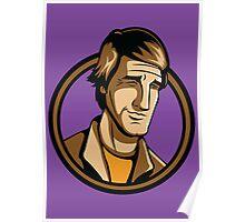 Time Travelers, Series 3 - Dr. Sam Beckett (Alternate) Poster