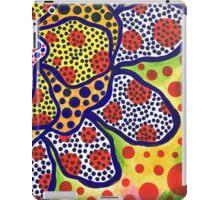 Funky Flower of Dots iPad Case/Skin
