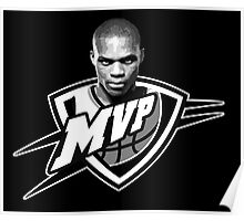 Russell Westbrook MVP (Solid) Poster