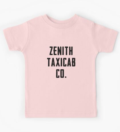 Zenith Taxicab Co. Kids Tee
