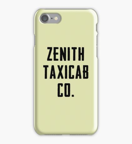 Zenith Taxicab Co. iPhone Case/Skin