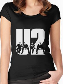 U2 Women's Fitted Scoop T-Shirt