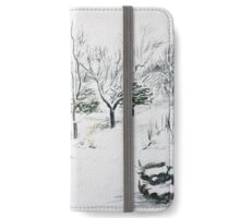 Snowy Rivington Pike Chinese Gardens iPhone Wallet/Case/Skin