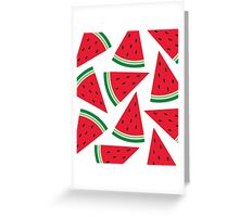 Watermelon. Greeting Card