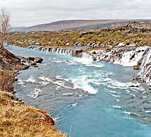 Iceland's Weeping Wall 2 by Graeme  Hyde