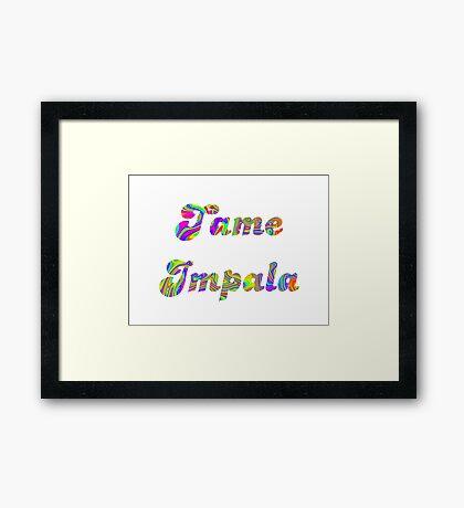 Tame Impala Logo Framed Print