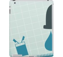 Crane with water iPad Case/Skin