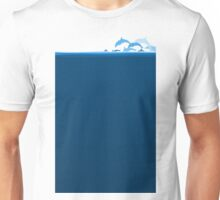 Flight of dolphins Unisex T-Shirt