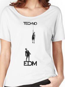 Techno vs EDM Women's Relaxed Fit T-Shirt