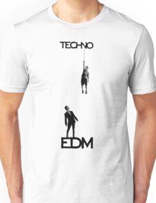 Techno vs EDM Unisex T-Shirt