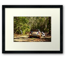 Regroup thoughts! Framed Print