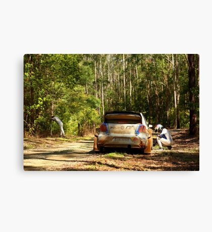 Regroup thoughts! Canvas Print