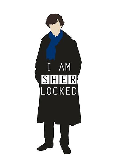 I AM SHERLOCKED by cooliounicorn