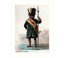Old Guard Grenadier Art Print