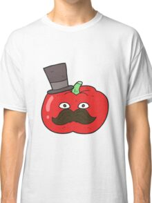 cartoon posh tomato Classic T-Shirt