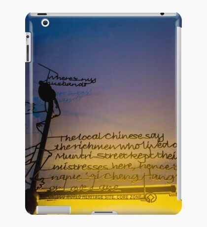 Wall Graffiti iPad Case/Skin