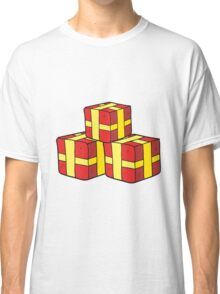 cartoon wrapped gifts Classic T-Shirt