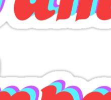 Tame reflective Sticker