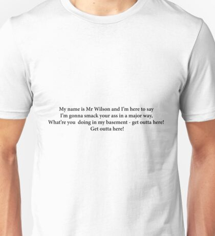 Mr Wilson Rap Unisex T-Shirt