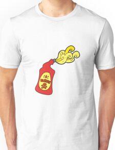 cartoon bleach bottle squirting Unisex T-Shirt